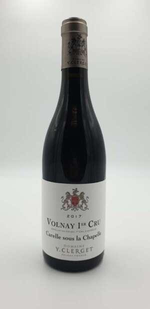 Domaine Yvon Clerget - Volnay 1er cru Carelle - 2017